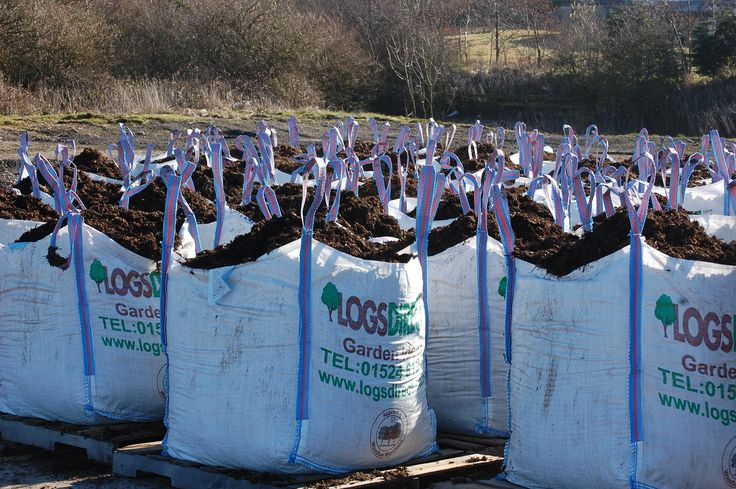 Here at Logs Direct we have a sea of dumpy bags containing top soil compost. So this works out at approximately 18 tonnes of top soil ready to be loaded onto a wagon ready for delivery for the gardening frenzy of Easter weekend. Have you order yours yet?  www.logsdirect.co.uk