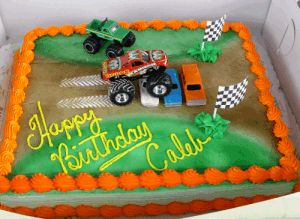 monster truck cakes | We Couldn't Resist This One...Sent to us by Carey Crabbs from Arizona.
