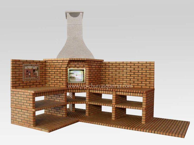 Fabricante de barbacoas de ladrillos y piedra barbecue - Fabricantes de barbacoas ...