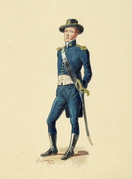Guardia Marina del regno delle due Sicilie