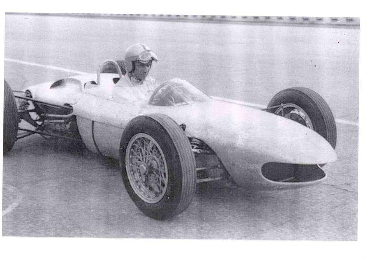 Ferrari 156 F1 TEST Modena  24-11-1962 J. Surtees