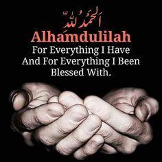 Alhamdulillaah ❤