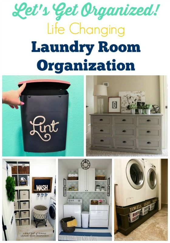 Get your laundry room into shape with these awesome organization tips! These ideas are not only life changing, but affordable too!