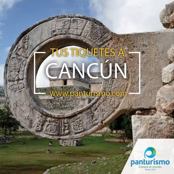 Ingresa a www.panturismo.com y compra tus tiquetes para que este 2016 lo empieces en las playas de Cancún.