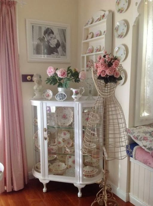 Inspiration: shabby chic on kokoshka.PL - home + interiors + Decoration + inspiration + DIY