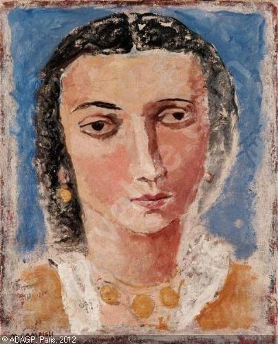 CAMPIGLI Massimo,Ritratto femminile,Finarte,Venezia