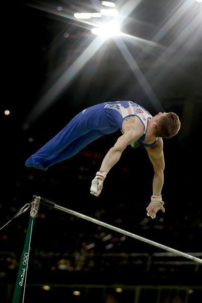 Nile Wilson of Great Britain competes on the Horizontal Bar Final on Day 11 of the Rio 2016 Olympic Games at the Rio Olympic Arena on August 16, 2016 in Rio de Janeiro, Brazil.
