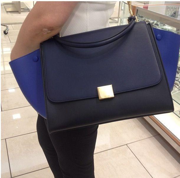 All leather Celine Trapeze #Celine #Medium #Trapeze | Bags ...
