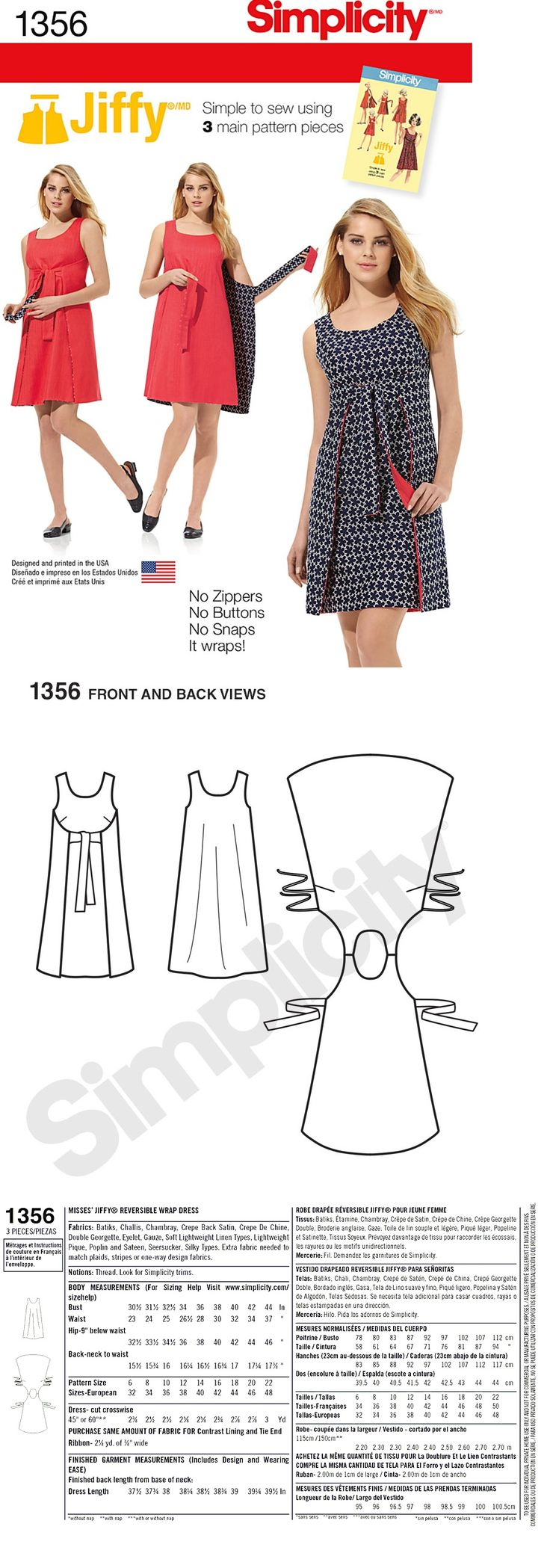 Wrap Dress Image Source: http://sewing.patternreview.com/Patterns/65590