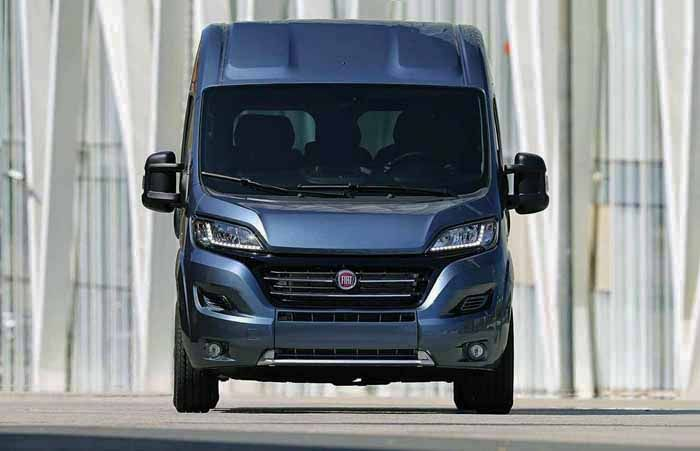 2018 Fiat Ducato overview