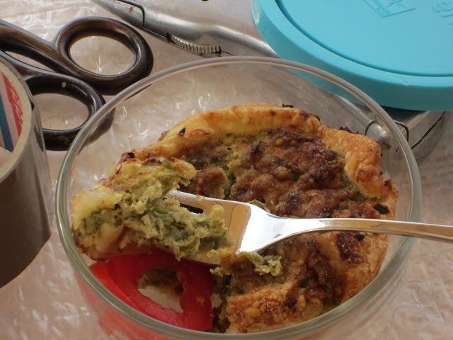 Schiscetta! : sformatino di fagiolini in sfoglia.