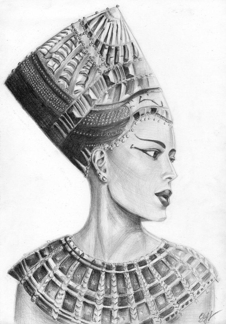 Nefertiti by ~murka92 on deviantART