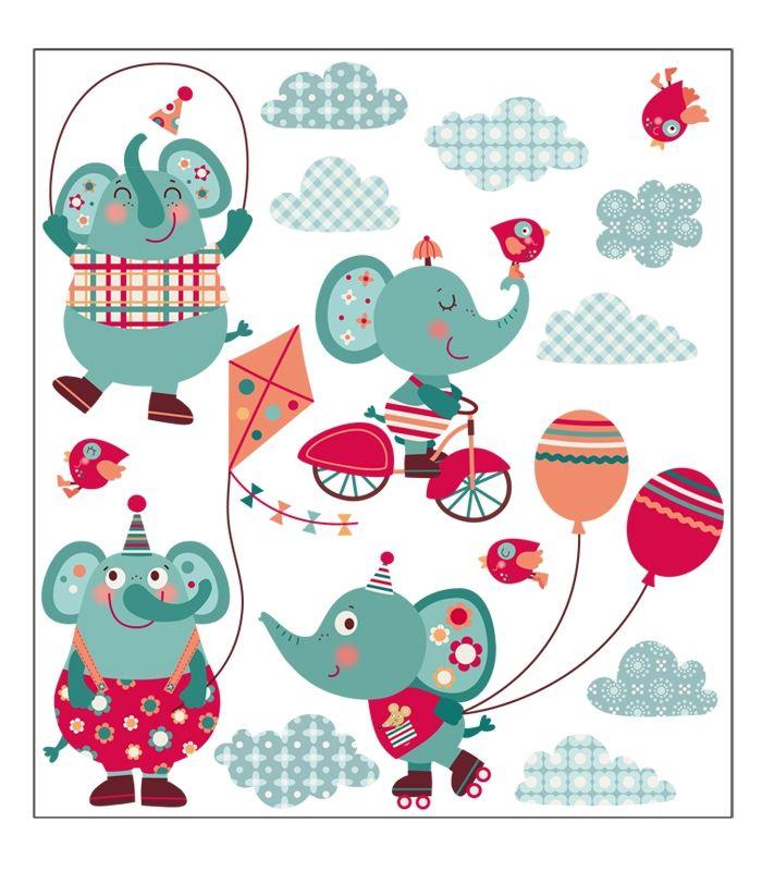 vinilo elefantes