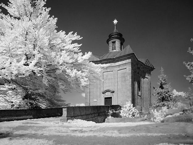 Broumovsko - Kaple Hvězda