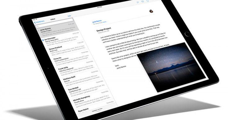 iPad Pro o tabletă subțire și ușoară