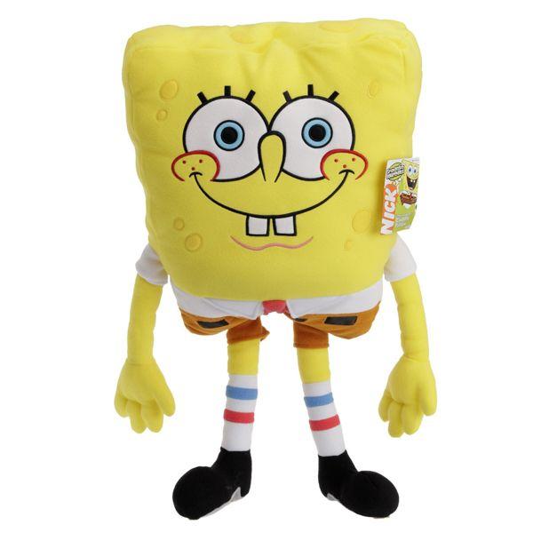 Flouda store   Λούτρινο μαξιλάρι Bob ο σφουγγαράκης