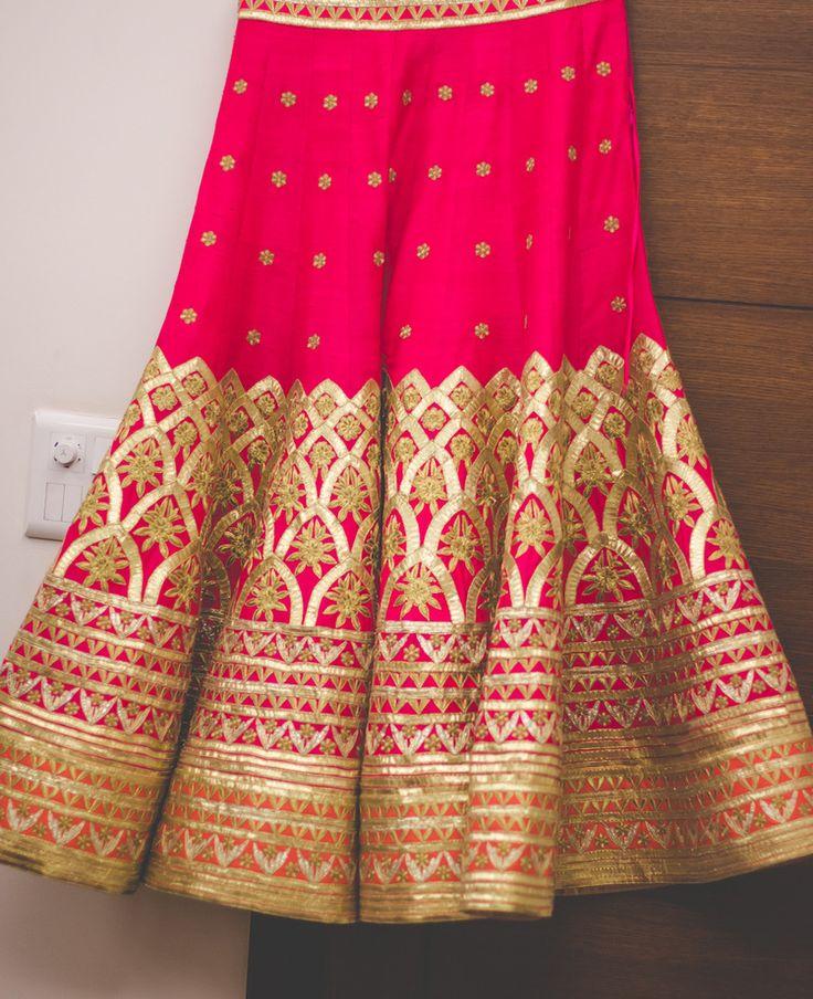 Rakhi and Kapil - Tania Seth Photography, MonikaNidhii Lengha, #indian #bridal #lengha #bridalwear