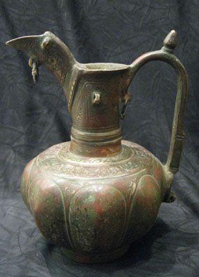 Bronze Ewer ,Seljuk Central Asia,12 th cent.