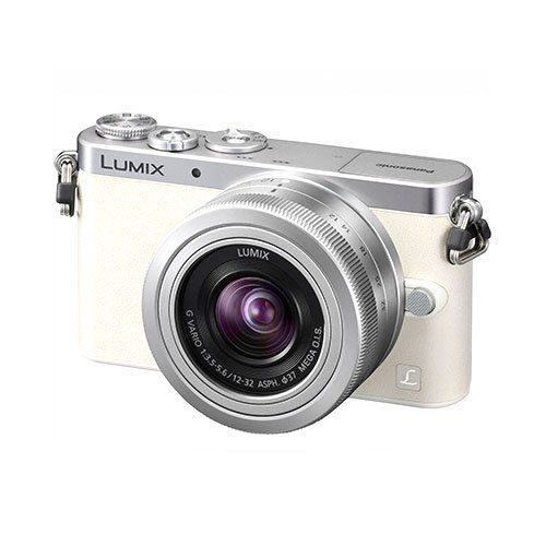 "Panasonic LUMIX DMC-GM1 16.0 MP Digital Camera (White, W/ 12-32 Lens). 16MP Digital Live MOS Sensor. Venus Engine Image Processor. Micro Four Thirds System. 3.0"" 1,036k-Dot Touchscreen LCD Monitor. Full HD 1080i AVCHD Video at 60 fps. Built-In Wireless Connectivity. Light Speed AF and Focus Peaking. ISO 25600 and 5 fps Continuous Shooting. Highly Compact Magnesium Alloy Body."