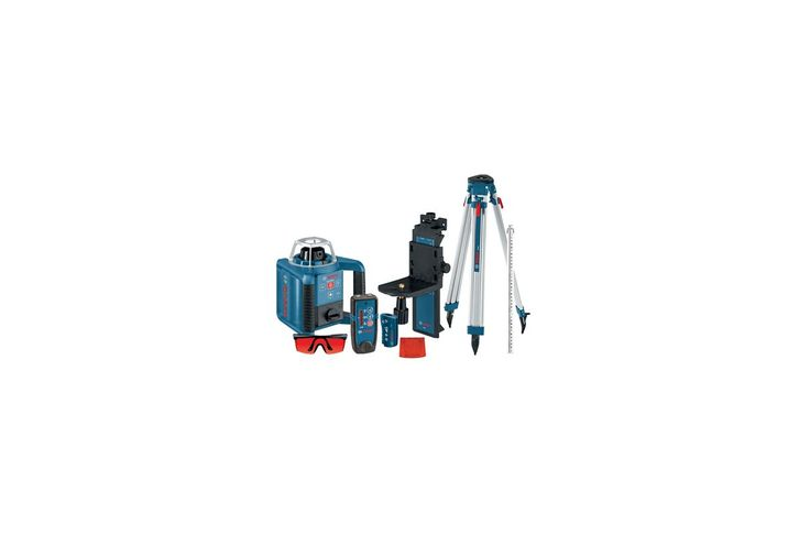 Bosch Grl300hvck Self Leveling Rotary Laser With Layout Beam Complete Kit Power Tools Lasers Instruments Rotary Lasers Beams Layout Rotary