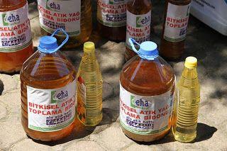 5 Litre Atık Yağa 1 Litre Ayçiçek Yağı