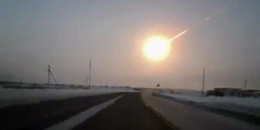 La météorite russe trente fois plus puissante que la bombe d'Hiroshima