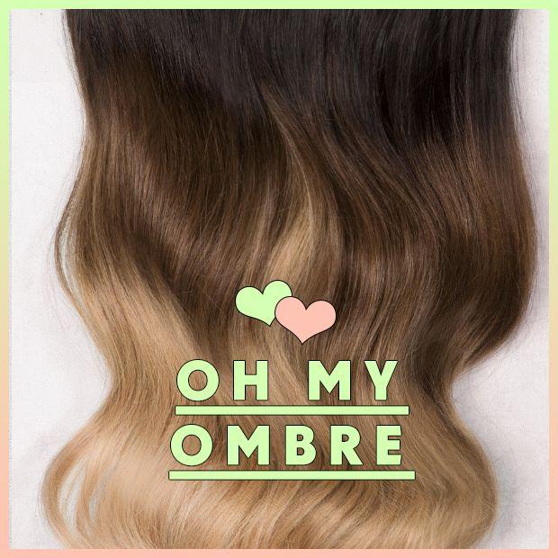 Best 25 ebay hair extensions ideas on pinterest coloured hair ombre hair extensions oh my ombre pmusecretfo Choice Image