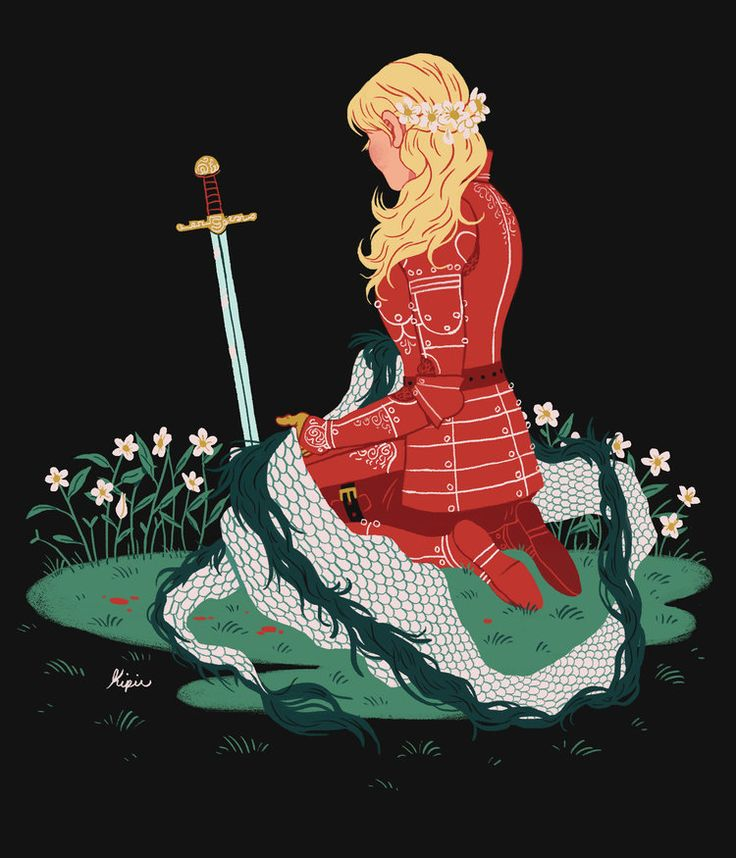 Knight 3 by Sara Kipin