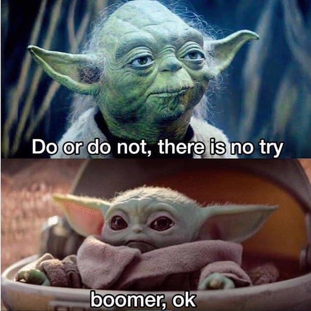 On Instagram The Baby Is Great And All But When Is Bill Burr Supposed To Show Up On The Mandalorian Star Wars Memes Yoda Meme Yoda Funny