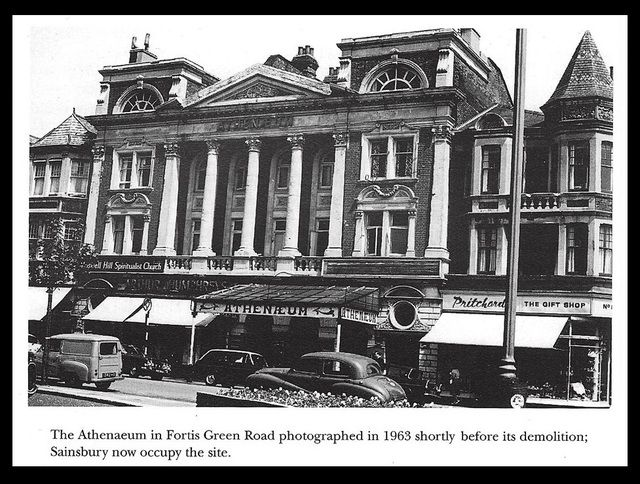 The Atheneum - Muswell Hill (now Sainsbury's)