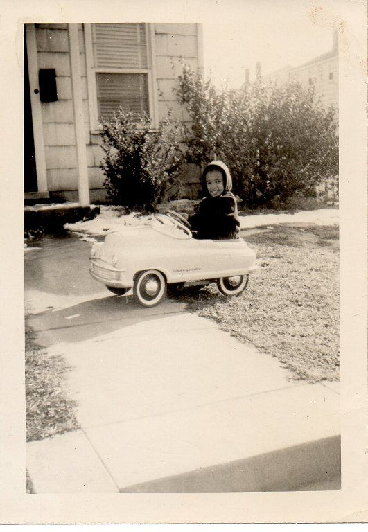 ridin' along in my automobile (writer Chris Terry's father)