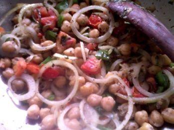 Healthy Vegetarian Recipes: Chickpea Stir Fry