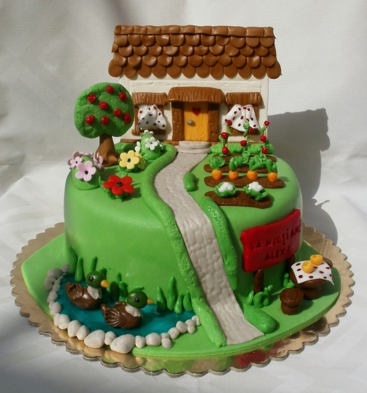 Cake Decorating Gardeners Road : 46 best images about 3rd Birthday - County Fair Theme on ...