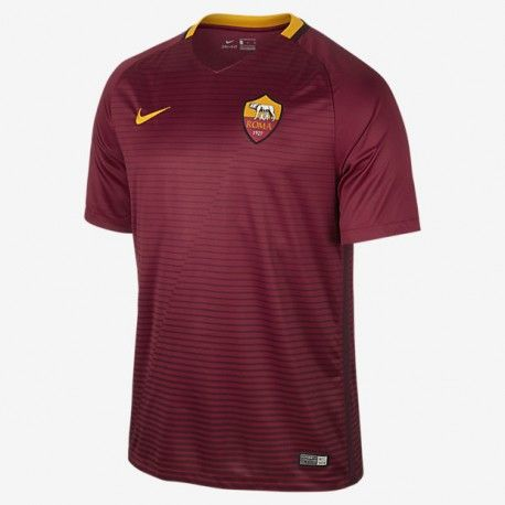 Maillot AS Roma  2016-2017 Pas Cher Domicile