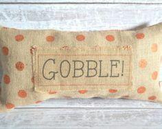 Items similar to XL Fall Pillow-FREE SHIPPING-Thankful-Thanksgiving Pillows-Fall Pillows-Fall-Burlap Pillow- Fall- Burlap Fall Pillow on Etsy