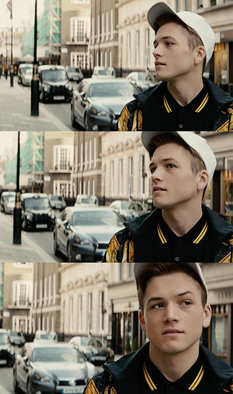 """Taron Egerton - That jawline is more structured than my life"" ^^^ just for this comment ahahahahaha"