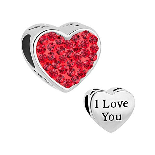 Valentine's Day I Love You Heart Charm Red Birthstone Crystal Beads Sale Cheap Fit Pandora Charm Bracelet Welcome to purchase in CharmsStory,there are many new fashion style charm/necklace/bracelet to be choosed,They are be best gift for your  Read more http://cosmeticcastle.net/jewelery/valentines-day-i-love-you-heart-charm-red-birthstone-crystal-beads-sale-cheap-fit-pandora-charm-bracelet  Visit http://cosmeticcastle.net to read cosmetic reviews