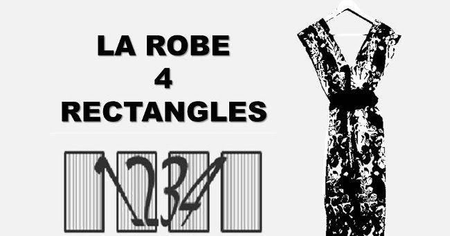 Comment Coudre La Robe 4 Rectangles Tuto Couture Facile Robe Comment Coudre Coudre