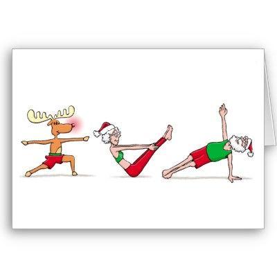 Yoga Christmas Card $2.95