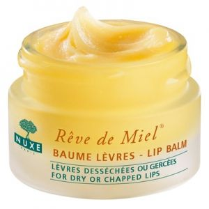 Rêve de miel de NUXE, Baume lèvres réparateur ultra nourrissant - 15g - A découvrir sur PowerSanté, la parapharmacie en ligne avec Top Santé.