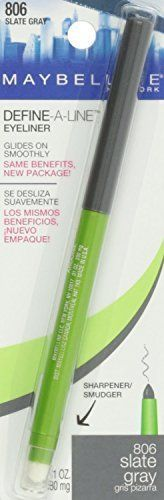 Maybelline Define A Line EyelinerSlate Gray Pack of 3 * Check out the image by visiting the link.