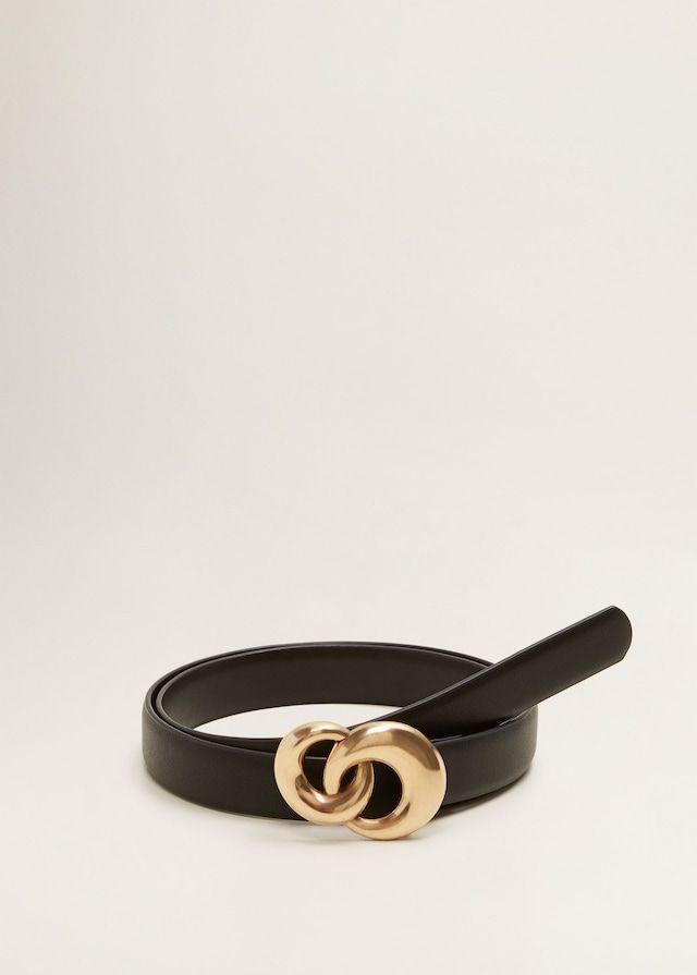 9d008b0b45 Cinturón hebilla redonda - Cinturones de Mujer