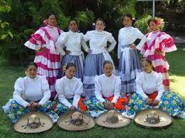 Traje tipico para escaramuza charra. Tlaxcala México