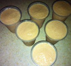 Limber de maní  Ingredientes: 2 potes de leche evaporada ½ tz. de agua 1 tz.mantequilla de maní o agusto azúcar a gusto  Procedimiento: Hierva la leche y el agua añada la mantequilla de maní sazone a gusto y sirva en vasos y congele. *Con el maní crunch sabe riquisimos...*