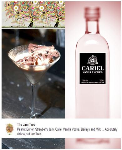 The Peanut Dream - Peanut Butter, Strawberry Jam, Cariel Vanilla Vodka, Baileys and Milk ... Absolutely delicious, Sinfully Delicious! twitter.com/CarielVodka    Big Love to thejamtree.com