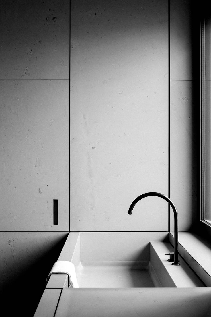 Contemporary bathroom inspiration bycocoon.com | minimalist bathroom | bathroom design products | inox stainless steel faucets | renovations | interior design | villa design | hotel design | Dutch Designer Brand COCOON || by Vincent Van Duysen