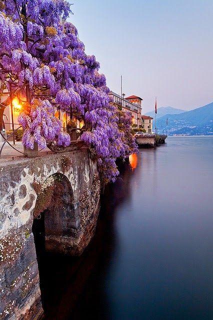Jezero Como,Italija