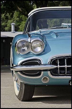 1960 Chevrolet Corvette | #Mecum #Dallas Not normally a Corvette fan. Pre-1968's had character