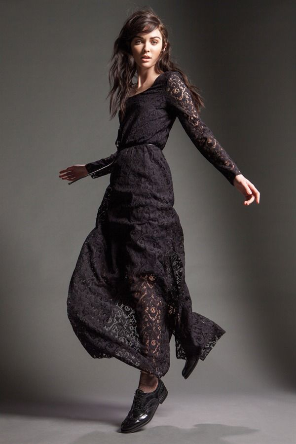 "Naughty Dog FW15 chic, romantic ""Sicilian style"" lace dress"