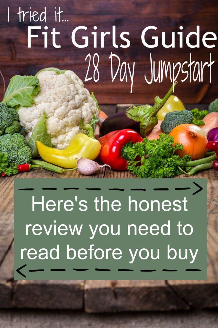 I tried the Fit Girls Guide 28 Day Jumpstart--see my review (and find out how I did)!